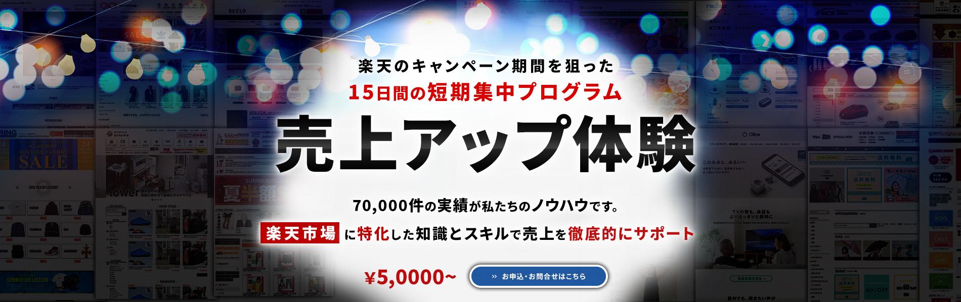 楽天のキャンペーン期間を狙った15日間の売り上げアッププログラム